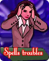 spell troubles remoing mantra