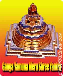 Ganga yamuna meru shree yantra ​This Ganga Yamuna Meru Shree Yantra​ is charged by shodashi mahavidya mantra. Divyayogashop offer this...