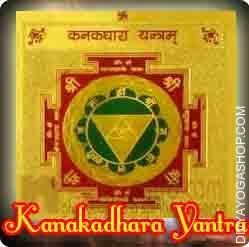 Kanakdhara gold plated Yantra This  Siddha Kanakdhara  gold plated  Yantra charged by   Kanakdhara  mantra.  Kanakdhara  gold plated  Yantra Helps in getting immense wealth, prosperity and luck...
