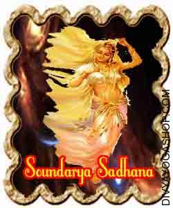 Soundarya Sadhana for Joy of Glory reference to a unique ritual that might be suffixed to any Sadhana for assuring success in successful over the grace of gods and goddesses and the varied deities...