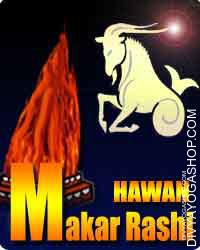 Makar rashi havan Capricorn or Makara is the tenth sign of the Zodiac. It's indicated by a Sea Goat. The image of Capricorn is signifies...