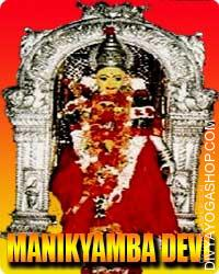 Manikyamba devi puja This deity was embellished with Manikyas(gems), therefore the identify Manikyamba or Manikyeswari. Bhimadeva...