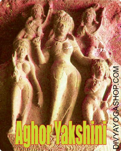 Aghor Yakshini Sadhana Samagri This Siddha Aghor Yakshini Sadhana Samagri energised by Aghor Yakshini mantra. In accordance with bhoot damar tantra, who will do this sadhna as soon as so after...