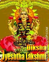 Jyeshtha Lakshmi diksha This is beneficial for removing financial...