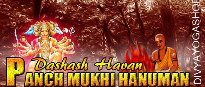Panchamukhi hanuman dashansha havan If person is performing Panchamukhi hanuman sadhana and unable to do havan after sadhana. The Divyayogashop...