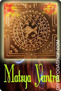 Matsya copper mantra This Kurma copper yantra is inscribed on copper and is energized with particular highly effective...