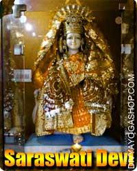 Saraswati devi puja Mata saraswati is usually depicted with 4 arms (some photos could present solely arms), carrying a white sari and seated...