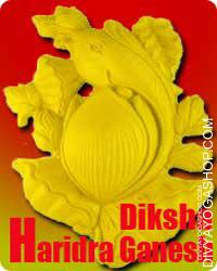 Haridra Ganpati diksha This is beneficial for getting success in any family functions like marriage...