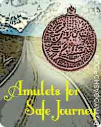 Amulets for Safe Journey This Amulets for Safe Journey charged by Bhairav  mantra. Why would you wear the travel talisman or any amulet or charm during your visit; it's a huge question therein...