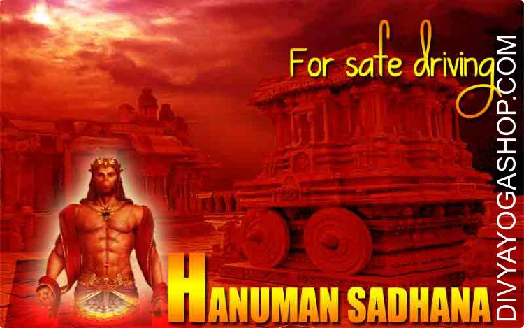 Hanuman Sadhana for safe Driving This Hanuman sadhna for vehicle once you start your car or any vehicle, invoking with it your personal highly effective consciousness..