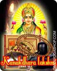 Kanakadhara sadhana samagri This Kanakdhara Lakshmi Sadhana Samagri has been energised by Kanakdhara Lakshmi mantra. It is beneficial for good luck and materiel comfort...