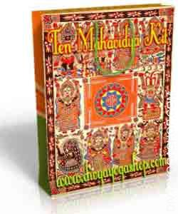 Ten Mahavidya Spiritual Kit This Ten Mahavidya spiritual kit is charged by Maata Ten Mahavidya mantra. There is stated to be ten incarnations of the Divine Mother or the supreme Deity or the Shakti..