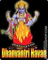 Dhanvantari havan for health
