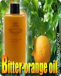 Bitter orange oil Bitter orange is a plant. The peel, flower, leaf, fruit, and fruit juice are used to create medicine. Bitter orange oil is...