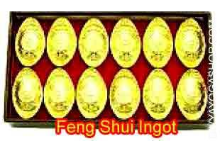 Wealth Symbol- Feng Shui Ingot Gold ingots are historical Chinese language gold average for exchanging costly goods. They're made to...