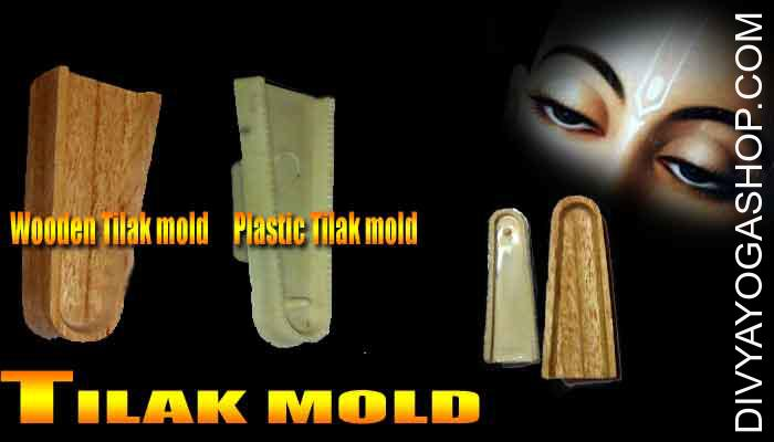 Tilak mold This Tilak Mold is charged by Karya Shidhi Mantra. This is made from Plastic and Wood. It is used for Tilak from its...