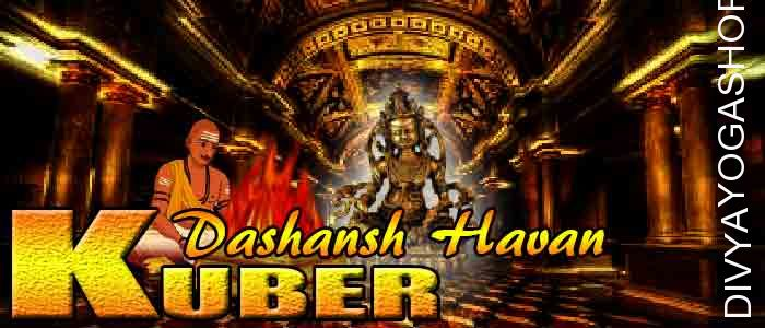 Kuber dashansha havan If person is performing Kuber sadhana and unable to do havan after sadhana. The Divyayogashop provides expert...
