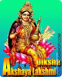 Akshay Lakshmi diksha This is beneficial for wealth, prosperity and fulfill of wishes...