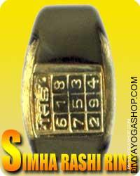 Simha (Leo) rashi ring Simha ( people born below leo ) are very proud, self-assured, beneficiant, sincere, frank, brave, loving...