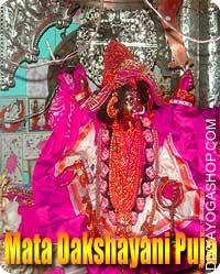 Mata Dakshayani puja Maa Sati also called Dakshayani is a Hindu Divinity of relationship felicity and long life. She is worshiped...