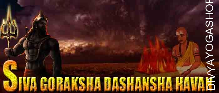 Shiv Goraksha dashansha havan If person is performing Shiv Goraksha sadhana and unable to do havan after sadhana. The Divyayogashop provides...