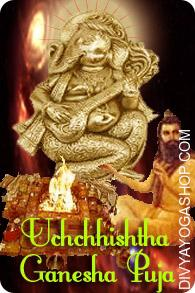 Uchchhishtha Ganesha Puja Uchchishtha Ganapati is the eighth form of the 32 types of Lord Ganapati. Lord Ganesha is among the hottest Hindu God worshipped in India and is believed to be the remover of all obstacles in the lives of his devotees....