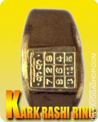 Karka (Cancer) Rashi ring Karka ( Cancer ) love their dwelling - their roots. Falling within the fourth home of the Kaalpurusha (Ursha Main)...