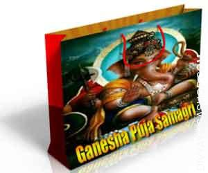 Ganesha puja samagri Ganesh Puja Samagri record to make your Bhagawan ganesha Pooja very straightforward and successful...