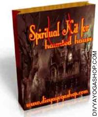 Spiritual kit for haunted house