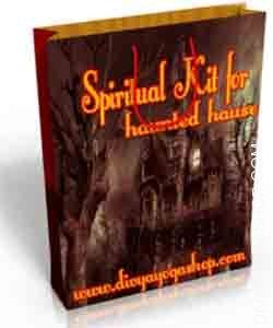 Spiritual kit for haunted house This Spiritual kit has been charged by Bhairav mantra.  This kit protect your house from ghost, evil effect and Blackmagic....