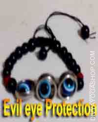 Evil eye protection bracelet for child