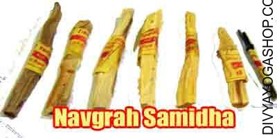 Navgrah samidha Navgrah puja is useful for navgrah havan. There is integrate samidha of 9 planets.​..