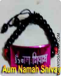Om namah shivay bracelet for child This om namah shivay bracelet is charged...
