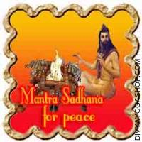 Mantra Sadhana for peace of mind