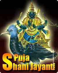 Puja on shani jayanti for remove obstacles