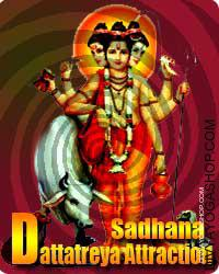 Dattatreya sadhana for attraction