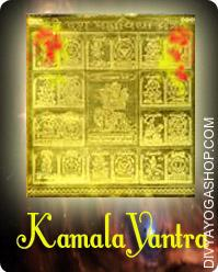 Kamala gold plated yantra This Mahavidya Kamala gold plated yantra charged by Maata Matangi mantra. Mahavidya Kamala gold plated yantra is beneficial for...