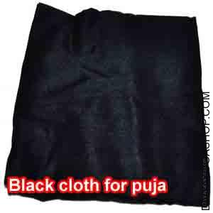 Black cloth for puja