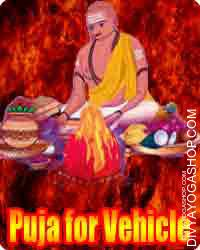 Puja for vehicle Beneficial for... protection from all kinds of vehicular incidents & accidents. This puja is beneficial in providing...