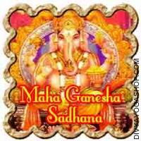Maha Ganapati Sadhana for success in task