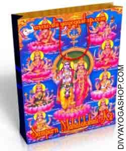 Sampoorna Mahalakshmi Spiritual kit This Sampoorna Mahalakshmi Spiritual kit charged by Mahamrtyunjai mantra. Sampoorna Mahalakshmi Spiritual kit is a blended mixture of four highly efficient wealth and prosperity...