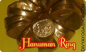 Hanuman ring A person wearing this Lord hanuman ring will likely be blessed with happiness and all their worries and defects...