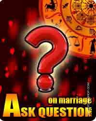 Ask question about marriage This is a particular function of Divyayogashop.com On this we use Horary Astrology and provides solutions to your particular query appropriately with out the use of the Date of birth time of birth & place of birth.