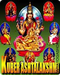 Ashtalakshmi Kuber sadhana for prosperity and wealth