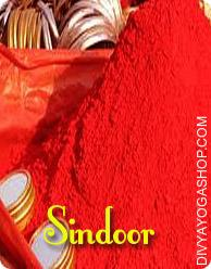 Vermillion/Sindoor This Vermilion charged by Ganesha mantra. Vermilion/Sindoor is worn in the center parting of the hair by married Hindu women. Sindoor is fabricated from sulfides of mercury or by cinnabar....