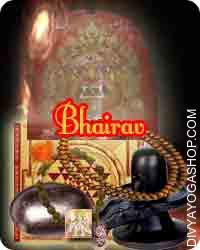 Bhairav sadhana samagri This Bhairav Sadhana Samagri has been energized by Bhairav mantra. It is beneficial for protection form...