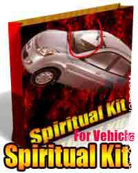 Spiritual kit for vehicle This spiritual kit for vehicle is charged by Mahamrtyunjai mantra. This spiritual kit for vehicle ensures safety out...