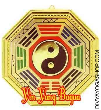 Yin Yang Bagua This Yin Yang Bagua charged by Vastu mantra. The mix of a Yin Yang sign with the sacred signs of the...
