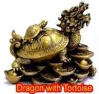 Dragon with Tortoise The dragon turtle remedy could be very common in classical, or conventional feng shui schools..