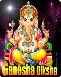 Ganesha Diksha This God (Bhagwan) of wisdom and the remover of obstacles is also the older son of Lord (bhagawan) Shiva. Lord (bhagawan) Ganesha can be known as Vinayak ( educated ) or Vighneshwer (god to take away obstacles). He's worshipped..